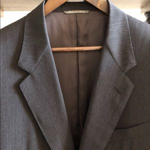 Canali Suits & Blazers - Canali Blazer - Made in Italy - Charcoal Gray